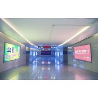 黄冈西站进出站通道灯箱广告 高铁客运站灯箱广告 天灿传媒