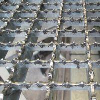 厂家供应齿形钢格栅板 排水沟盖板 Q235钢格板