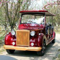 傲森厂家直销AS-0012 12人座充电8-10小时四轮电动老爷车观光车景区接待车