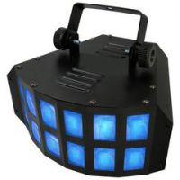 舞台灯 led双层蝴蝶灯 KTV酒吧灯包房闪光灯灯 变色激光灯效果