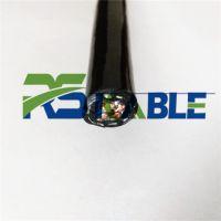 柔胜/风力抗扭电缆3芯1.5/2.0/2.5平方风机抗扭专用电缆耐低温防冻防水抗UV