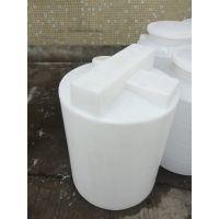 白色1立方锥底圆形加药箱可配搅拌机