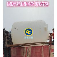 厂家直销10吨塑料水箱 10立方氢氧化钠储罐 养殖厂二次供水塔