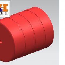 供应环海滚塑拦污浮体浮筒浮排(FT100120)