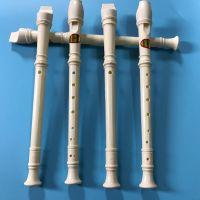 笛子,竖笛 白色笛子,儿童乐器玩具一元两元地摊货源 可做赠品