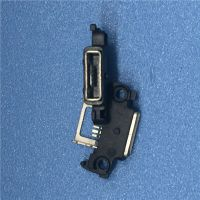 MICRO USB 5PIN AB型防水母座 四脚插板 带双耳螺丝定位孔 大电流