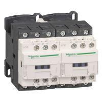 施耐德LC2D09CC7C TeSys D 三极可逆接触器 - 9 A - 36 V - 50/60