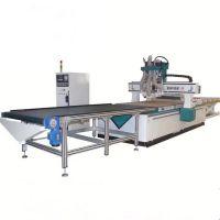 双主轴加排钻板式家具生产线数控开料机雕刻机