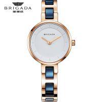 宝茄达时尚潮流超薄女士腕表进口石英机芯蓝宝石防水OEM手表定制