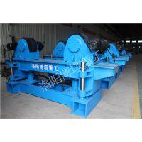 自调电动行走滚轮架 自调50吨加长底座滚轮架