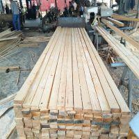 广东厂家直销建筑木方 四面见线率95% 房建桥梁用方木条