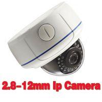 2.8-12mm400万变焦网络监控摄像机 2.8-12mm 4X motorized lens