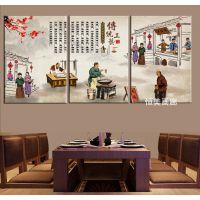 云南过桥米线装饰画舌尖上的美食味道小吃餐厅饭店挂画墙壁无框画