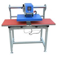 厂家直销全自动气动上滑式双工位压烫机热转印机50*70CM