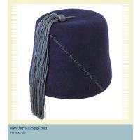 亚美尼亚穆斯林灰色流苏黑色羊毛帽Armenia Tassels Wool Cap.