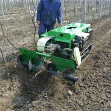 一机多用耕整履带机 省力自走式旋耕机 农田机械履带开沟机