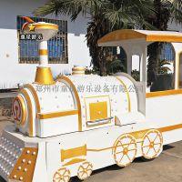 庙会儿童户外游乐设备无轨火车大气典雅