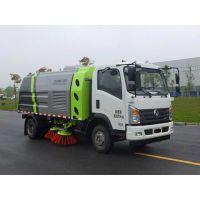 天燃气(NG新能源)扫路车,中联牌ZLJ5083TSLEQE5NG型扫路车