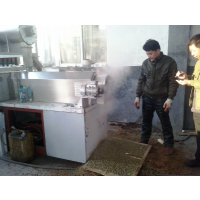 大型蒸汽鱼饲料生产线设备价格霖奥膨化设备