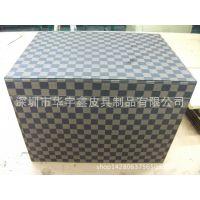 高档PU皮质收纳箱 皮革玩具整理箱 储物箱 收纳盒 可定制LOGO