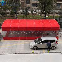 高禹镇加工推拉蓬 大排档防风帐篷 电动车雨棚布怎么合起来