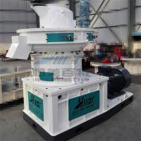 辽宁花生壳制粒生产线 高产量生物质颗粒造粒机 运行稳定