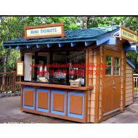 天涯海角椰子移动售货亭 商场奶茶亭 公交车站利民流动早餐车