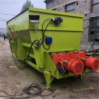 柴油双绞龙混合搅拌机 TMR粉碎草捆拌料机 中泰机械