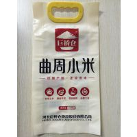供应聊城冠县小米包装袋/高档彩印小米袋,免费设计图案