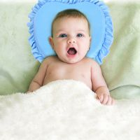 婴儿定型枕宝宝bb新生儿记忆枕头夏季防偏头矫正0-3-6个月