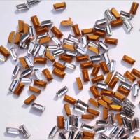 厂家直销2*4白色尖底长方钻 玻璃水晶仿捷克钻 项链戒指饰品配件