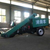 厂家直销全液压驱动清粪车 环保耐用养殖场专用自动清粪车