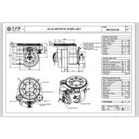 意大利CFR入驻亚洲国际物流展轻重载AGV专业舵轮--MRT20系列