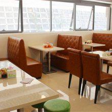 巴中市牛杂店沙发桌椅,美食店家私桌椅供货商