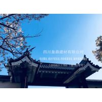 北京四合院屋顶瓦 度假山庄装饰筒瓦 仿古瓦厂家筒瓦批量销售