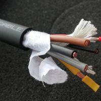 耐磨防油抗拉折动力带信号TRVV4+2芯裸铜线复合拖链电缆适用于松下 三菱 安川伺服电机