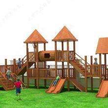 定制儿童户外组合滑梯 幼儿园木质滑梯攀爬架 景区公园小区组合滑梯 无动力游乐设备