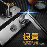 【香港域堡】304不锈钢门锁房门锁卧室锁具执手锁室内门锁AS19B12