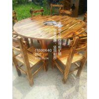 广东省兴泰德盛销售实木餐厅椅|火烧碳化实木桌椅 欢迎来电咨询