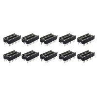 IC插座 IC测试座 16P 16脚 芯片座 DIP16 一管30个