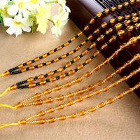 琥珀色项链绳子  diy手工编织项链绳饰品翡翠珠宝挂绳玉坠绳配件