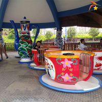 旋转大型转杯游乐设备 儿童旋转咖啡杯游乐设施