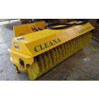 柳工滑移装载机斜角扫雪滚刷 冬季扫雪工程设备装载机扫雪清扫