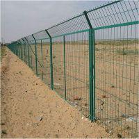 1.8*3.0m低碳钢丝绿色养殖铁丝网 边框护栏网