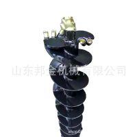 挖机配螺旋钻   打孔设备  液压螺旋钻  电话询价  厂家直销