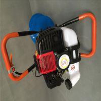 庞泰2米深电线杆钻眼机/汽油打坑机加框架多少钱