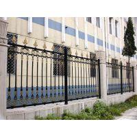 供应工厂锌钢围墙护栏 别墅学校铸铁院墙栏杆 铁艺隔离围栏定制