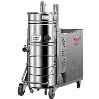 机械制造厂用380V吸尘器吸金属颗粒粉尘威德尔工业吸尘器