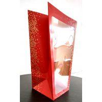 通用包装 梯形透明 展示装饰袋 插花收纳通用