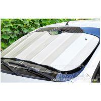60X130cm 汽车遮阳板 双面银色铝膜气泡遮阳前挡 太阳挡 遮阳挡